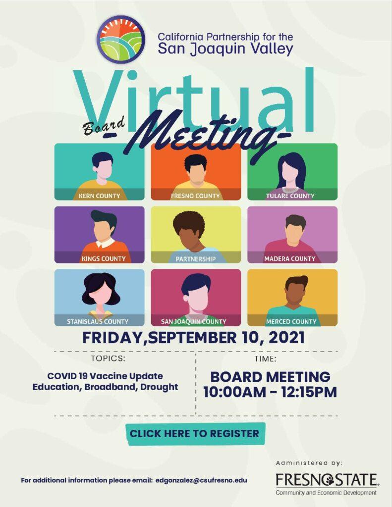 Q3 2021 Board Meeting @ VIRTUAL MEETING